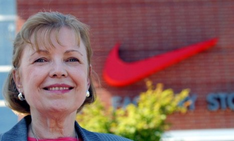 'I never get tired of looking at it': Woman who designed Nike's swoosh explains how chance encounter with Phil Knight led to its inception 40 YEARS ago | Creativity. Innovation. Design. | Scoop.it
