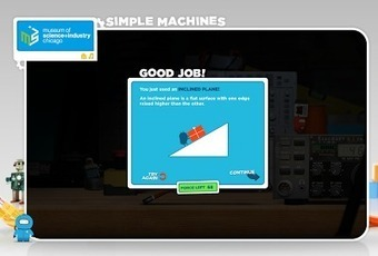 Free Technology for Teachers: Simple Machines - Fun Game for Learning About Physics | ipadseducation | Scoop.it
