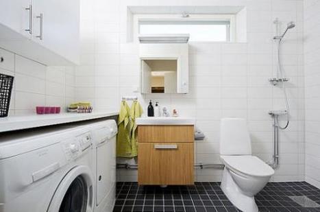 Lưu ý khi để máy giặt trong phòng tắm | suachuabinhnonglanhariston | Scoop.it