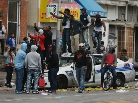 Social Media Trail Links Rioters in Ferguson to Those in Baltimore | Soup for thought | Scoop.it