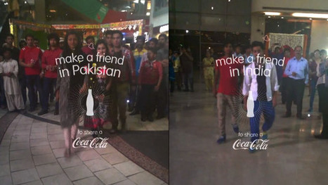 Coca-Cola réconcilie l'Inde et le Pakistan | Innovative Street Marketing | Scoop.it