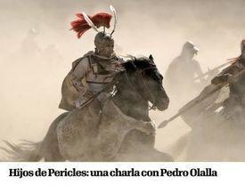 Hijos de Pericles: una charla con Pedro Olalla #Grecia | EURICLEA | Scoop.it