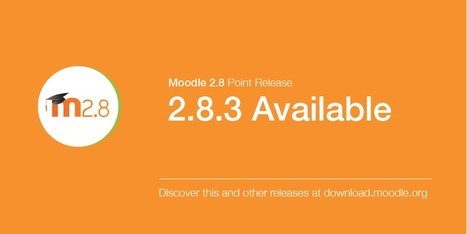 Moodle.org: Moodle 2.8.3, 2.7.5 and 2.6.8 are now available (security release) | E-learning, Moodle y la web 2.0 | Scoop.it