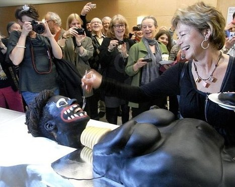 Screaming Black Female Circumcision Cake Controversial | Soup for thought | Scoop.it