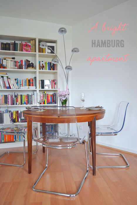 Happy Interior Blog: From Place To Space: My Friend's Hamburg Apartment | Selena Campbell | Scoop.it