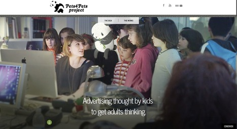 Leo Burnett Italy for WWF: Pets4Pets Project - Advertising thought by kids to get adults thinking | BeBetter | Scoop.it
