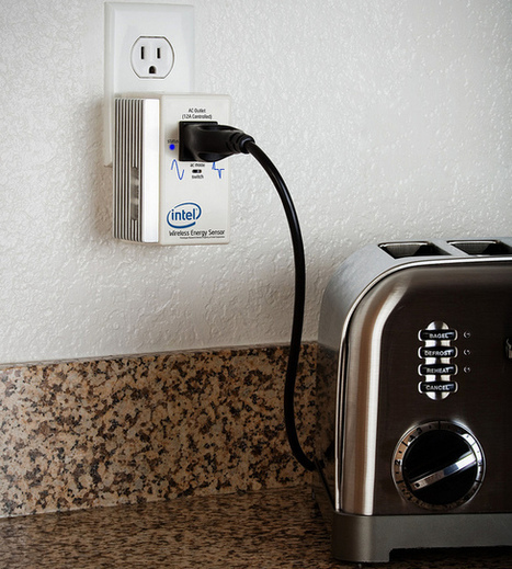 Intel home energy sensor on toaster | Intel Free Press | Scoop.it