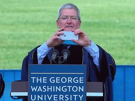 Tim Cook used a graduation speech to trash Android phones (AAPL) | Nerd Vittles Daily Dump | Scoop.it