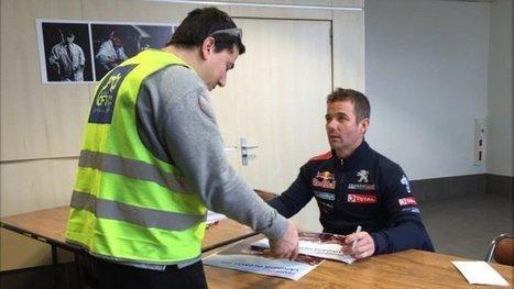 Sébastien Loeb à la rencontre des salariés de PSA Mulhouse - France 3 Alsace | Alsace Actu | Scoop.it