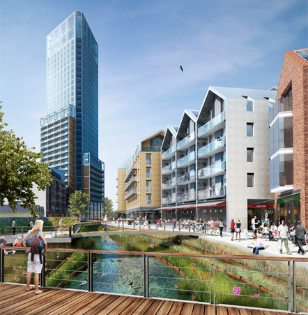 EPR Architects granted planning for Ram Brewery Regeneration Project | Architecture and Architectural Jobs | Scoop.it