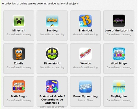 34 Learning Games for Students From edshelf | Flipped Classrooms | Scoop.it