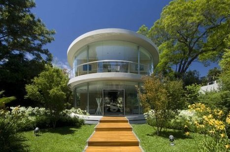 Ellipse Home in Buenos Aires by VS Arquitectos | Awesome Architecture | Scoop.it