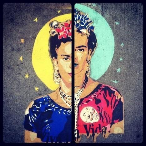 Two great Frida Kahlo stencils « Mission Mission | Frida Kahlo | Scoop.it