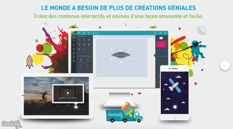 Genial.ly : une nouvelle plateforme de création de contenus interactifs | Applications éducatives & tablettes tactiles | Scoop.it