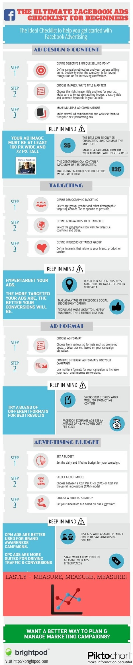 The Ultimate Facebook Advertising Checklist for Beginners [Infographic]   Social Media Sensei Tips and Tricks   Scoop.it