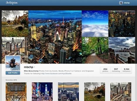 The New Instagram Web Profiles Are Sweet | ZAGGblog | WEBOLUTION! | Scoop.it