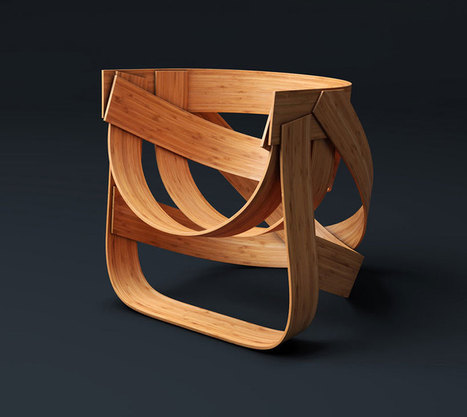 dutch design only presents sustainably woven bamboo chair - designboom | architecture & design magazine | Favorite Designer | Scoop.it