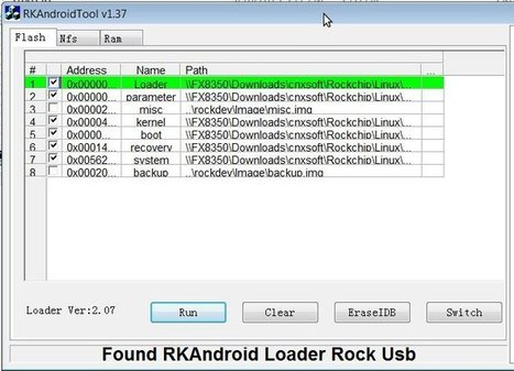 How to Flash Rockchip RK3066 / RK3188 Firmware in Linux | Embedded Systems News | Scoop.it