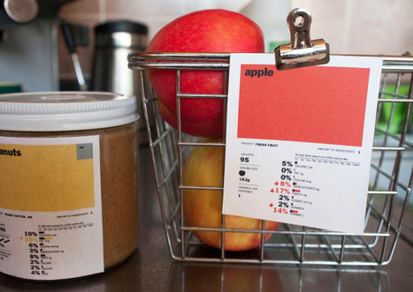 Infographic Of The Day: A Food Label That Actually Teaches You About Food | Co. Design | Food issues | Scoop.it