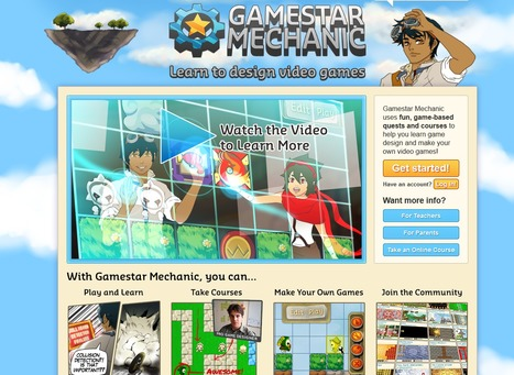 Gamestar Mechanic | Using Technology Curriculum in the classroom with students with special needs. | Scoop.it