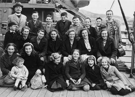 Evacuees to New Zealand   European History 1914-1955   Scoop.it