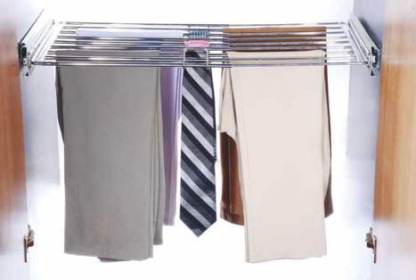 Adj-Trouser-Tie-Rack-Pull-Out   Modular-Kitchen   Scoop.it