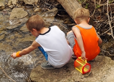 Mud pies and green spaces – why children do better when they can get outdoors | Book Week 2015 Books light up our world | Scoop.it
