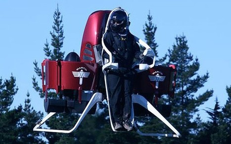 Personal jetpack on the market next year, says aircraft company - Telegraph.co.uk | Innovation | Scoop.it