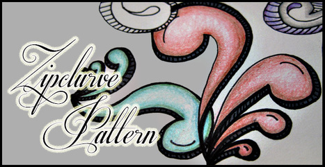 Sharing Pattern Zipclurve   Artistic Line Designs-all free   Scoop.it