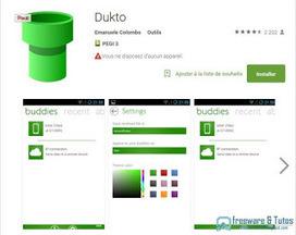 Dukto : la meilleure application Android pour partager ses fichiers ~ Freewares & Tutos | Enseigner avec Android | Scoop.it