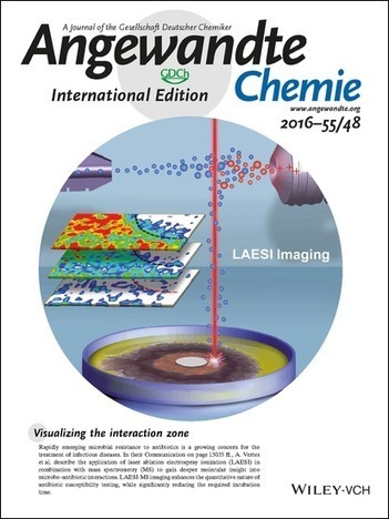 Inside Back Cover: Molecular Imaging of Growth, Metabolism, and Antibiotic Inhibition in Bacterial Colonies by Laser Ablation Electrospray Ionization Mass Spectrometry (Angew. Chem. Int. Ed. 48/201... | Mass spectrometry | Scoop.it