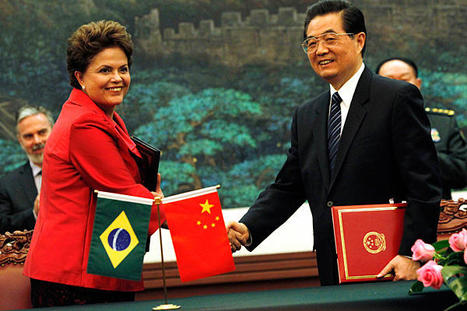 "Brazil-China reinforce their ""global strategic partnership"" with a set of trade agreements 