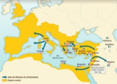 History of Christianity from its origins to the late Middle Ages - The Map as History | MAPS  Ideas, Examples, Resources | Scoop.it