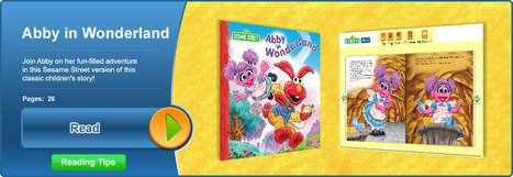 Home - Sesame Street free eBooks of the week | Read to me | Scoop.it