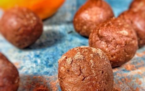 Chocolate Orange Energy Bites [Vegan, Gluten-Free, Oil-Free] | My Vegan recipes | Scoop.it