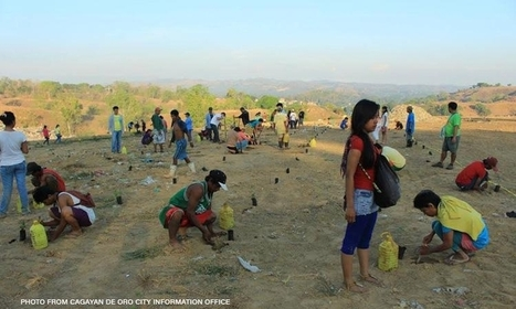 """Cagayan de Oro dump site turns into a tree park (""""this is an attempt to convert dump into tree park"""") 