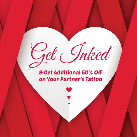 Enjoy 50% Off on all Stylish Tattoos on this Valentine's Day   Black Poison Tattoos   Scoop.it
