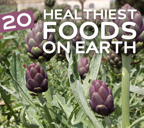 20 Healthiest Foods on Earth | GMOs & FOOD, WATER & SOIL MATTERS | Scoop.it