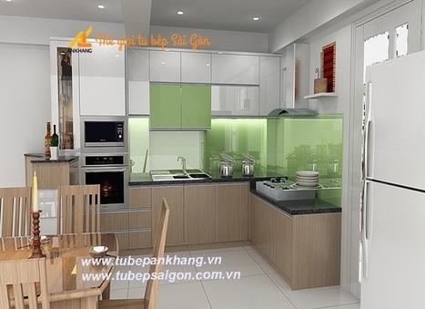 Tủ bếp gia đình nhà chị Hòa | Tủ Bếp Sài Gòn Cao Cấp | Scoop.it