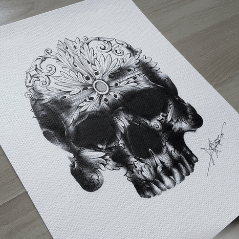 Exquisite Pen Drawings Created with Thousands of Tiny Dots | Le It e Amo ✪ | Scoop.it