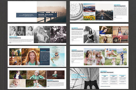 Photography Brochure | 16Pages | Wedding Photography Magazine | Photography Portfolio Brochure | Instant Download-Photoshop Template | photography | Scoop.it