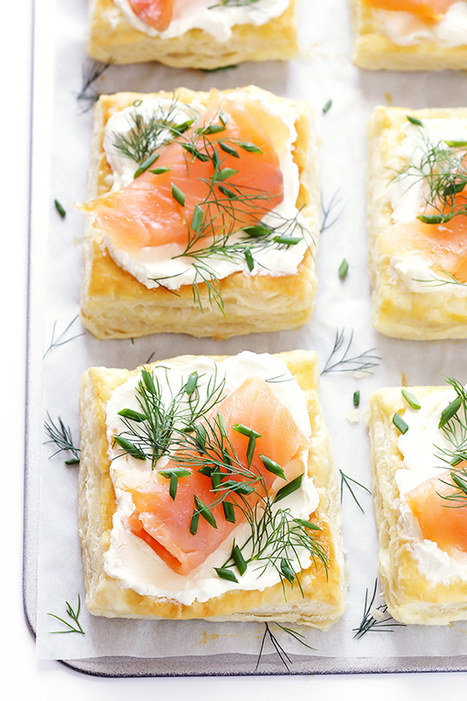 Smoked Salmon and Cream Cheese Pastries | Gimme Some Oven | Passion for Cooking | Scoop.it