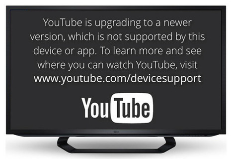 YouTube no funcionará en viejos iPhones y Smart TVs | Aplicaciones móviles: Android, IOS y otros.... | Scoop.it