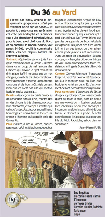 Un article dans le magazine Casemate | Bande dessinée et illustrations | Scoop.it