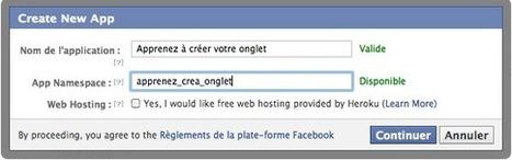 Facebook : créer des onglets personnalisés pour votre page Entreprise - Le Blog Kinoa | Marketing Internet News | Scoop.it