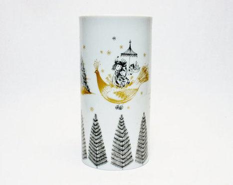 Raymond Peynet for Rosenthal Studio Line Scarce Decoration Lovers Taking Flight in a Bird Signed Mid Century Modern Winblad Era Vase Pottery   S U B L I M E * D E S I G N   Scoop.it