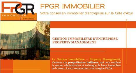 FPGR Immobilier : Gestion d'immobilier d'entreprise   Actualités - informations   Scoop.it