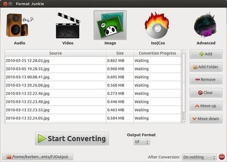 Format Junkie – Convertir des médias sous Ubuntu | Time to Learn | Scoop.it