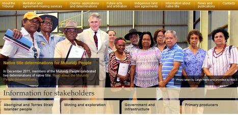 National Native Title Tribunal - Home | Indigenous perspectives | Scoop.it