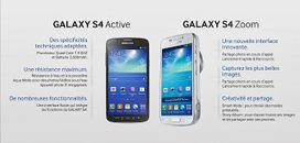 Galaxy S4 Active et Galaxy S4 Zoom | Mon carnet web | Scoop.it